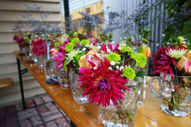 Beer & bouquets